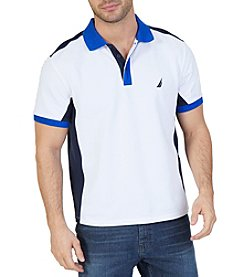 Nautica® Men's Short Sleeve Colorblocked Polo Shirt