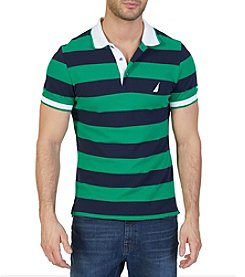 Nautica® Men's Short Sleeve Striped Polo Shirt
