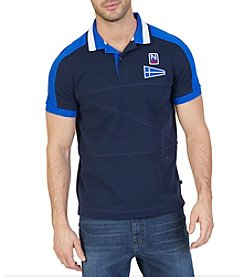 Nautica® Men's Short Sleeve Colorblock Polo Shirt