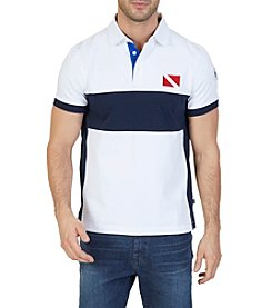 Nautica® Men's Classic Fit Heritage Color Block Polo Shirt