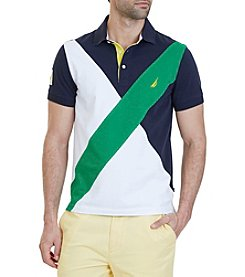 Nautica® Men's Angle Blocked Polo Shirt