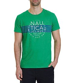 Nautica® Men's Striped J-Class Crew Tee
