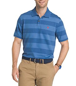 Izod® Men's Big & Tall Advantage Striped Polo