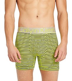 Calvin Klein Men's Stripe Steel Boxer Briefs