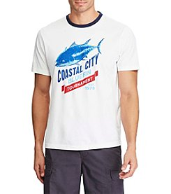 Chaps® Men's Big & Tall Jersey Coastal City Graphic Tee