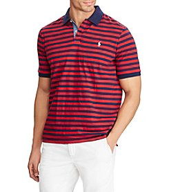 Polo Ralph Lauren® Men's Big & Tall Short Sleeve Striped Polo Shirt