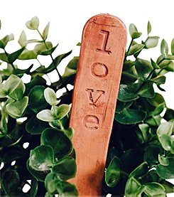 Mud & Maker Garden Markers Love