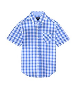 Chaps® Boys' 8-20 Short Sleeve Woven Top