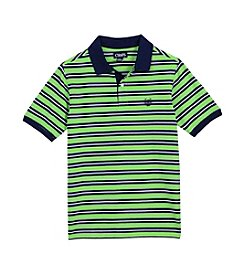 Chaps® Boys' 8-20 Short Sleeve Stripe Polo Shirt