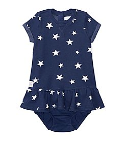 Ralph Lauren Baby Girls' Star Print Dress And Bloomer