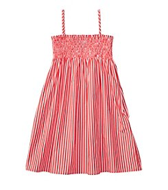 Polo Ralph Lauren® Girls' 2T-6X Sleeveless Striped Dress