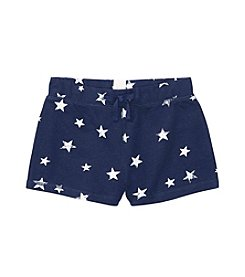 Polo Ralph Lauren® Childrenswear Girls' 7-16 Star Print French Terry Shorts