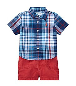 Ralph Lauren® Baby Boys' 2 Piece Shorts Set