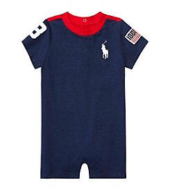 Ralph Lauren® Baby Boys' Colorblocked Shortalls