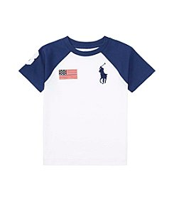 Polo Ralph Lauren® Boys' 2T-20 Short Sleeve Cotton Jersey Crewneck Tee