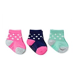 Carter's® Baby Girls' 3-Pack Dot Socks