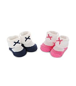 Carter's® Baby Girls' 2-Pack MJ Keepsake Booties