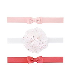 Carter's 3-Pack Baby Girls' Headwraps