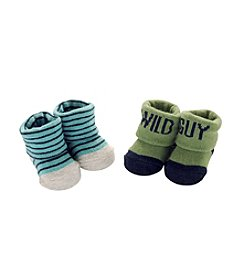 Carter's Baby Boys' 2-Pack Wild Guy Keepsake Booties