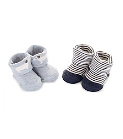 Carter's Baby Boys' 2-Pack Puppy Keepsake Booties