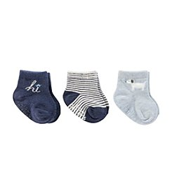 Carter's® Baby Boys' 3-Pack Hi Socks