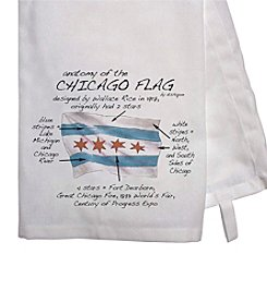 Dishique Chicago Flag Dish Towel