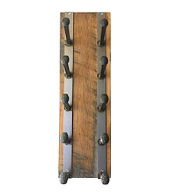 Muirwood Reclamations Railroad Spike Wine Rack