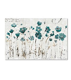 Lisa Audit Abstract Balance VI Blue Canvas Art