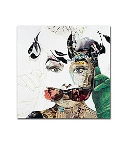 Trademark Global Fine Art Ines Kouidis 'Audrey' Canvas Art