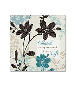 Trademark Global Fine Art Lisa Audit 'Botanical Touch Quote I' Canvas Art