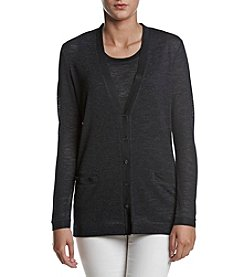 Jones New York® Boyfriend Style Cardigan