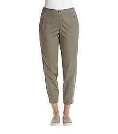 Rafaella® Green Stretch Ankle Pants