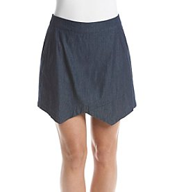 G.H. Bass & Co. Chambray Skort