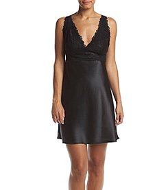 Jones New York® Black Lace Chemise