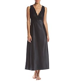 Jones New York® Black Lace Chemise Gown