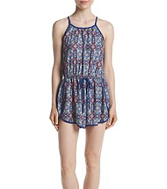Be Bop Athletic Style Geo Romper