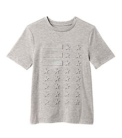 Seven Oaks Boys' 8-20 Short Sleeve Flag Embossed Tee