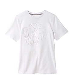 Seven Oaks Boys' 8-20 Short Sleeve Lion Embossed Tee