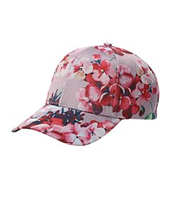 Collection 18 Floral Baseball Hat