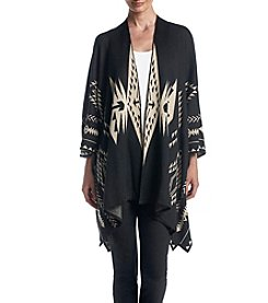 Ruff Hewn Embroidered Poncho
