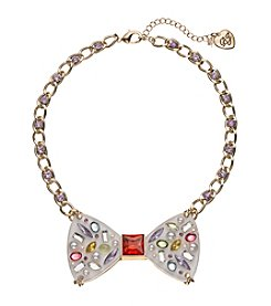 Betsey Johnson® Bow Necklace