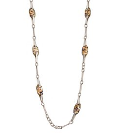 Robert Lee Morris Soho™ Abalone Station Necklace