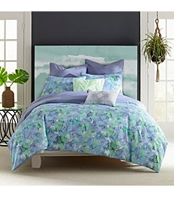 Amy Sia Sea Of Glass Reversible Seafoam Duvet Cover
