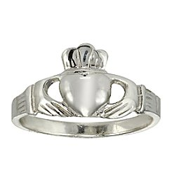 Designs by FMC Sterling Silver Claddagh Ring