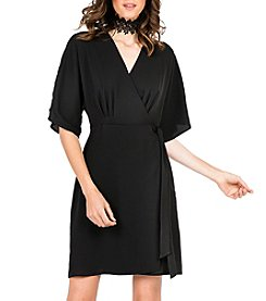 Standards & Practices Candice Wrap Knee Dress