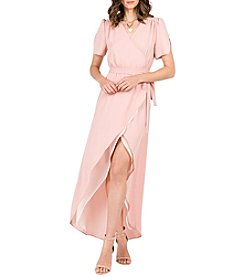 Standards & Practices Robin Wrap Maxi Dress