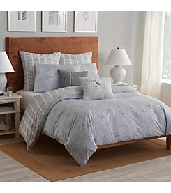 Shell Rummel Soft Repose Gray Duvet Set
