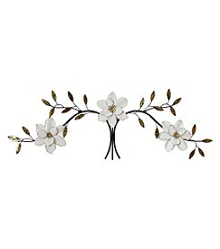 Stratton Home Décor Over-the-Door White Blooms Wall Décor