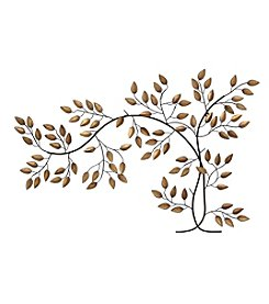 Stratton Home Décor Bronze Tree Branch Wall Décor