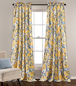 Lush Decor Dolores Room Darkening Window Curtain Set
